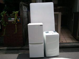 冷蔵庫処分、洗濯機処分
